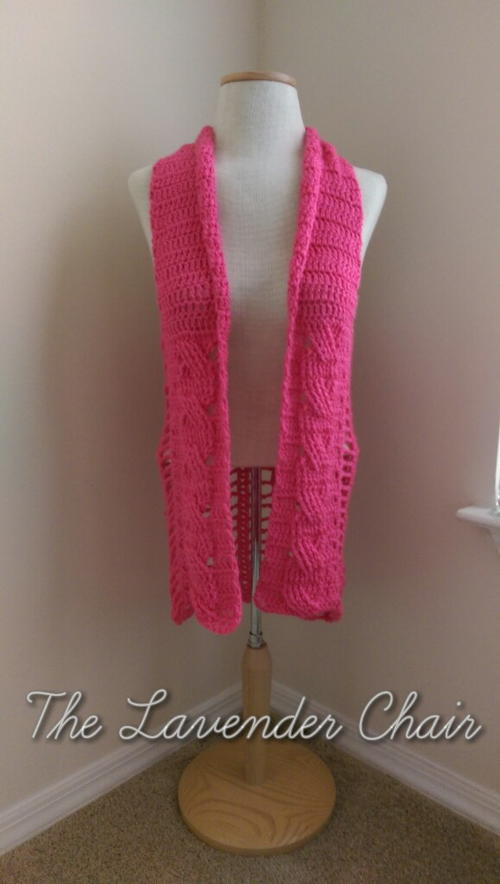 Cabled Vest Free Crochet Pattern (English)-cabled-vest-free-crochet-pattern-jpg