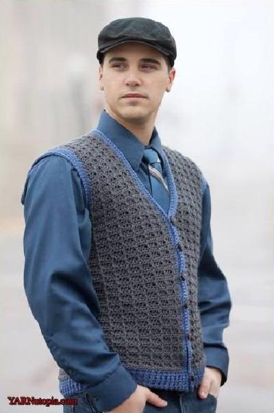 Classic Vest Free Crochet Pattern (English)-classic-vest-free-crochet-pattern-jpg