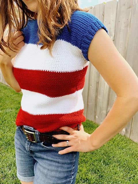 Perfect Striped Tee for Women, XS-3XL-tee-jpg