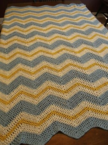 """GOLDEN GRANNY""  Handmade afghan blanket.  Available at GrannyBlankets.com-gold-granny-blanket-sale-jpg"