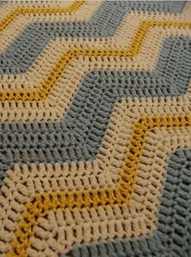 """""""GOLDEN GRANNY""""  Handmade afghan blanket.  Available at GrannyBlankets.com-gold-granny-blanket-jpg"""