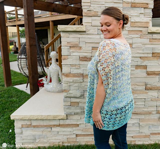 Shell Yeah! Tunic for Women, fit up to 2XL, also adjustable-tunic1-jpg