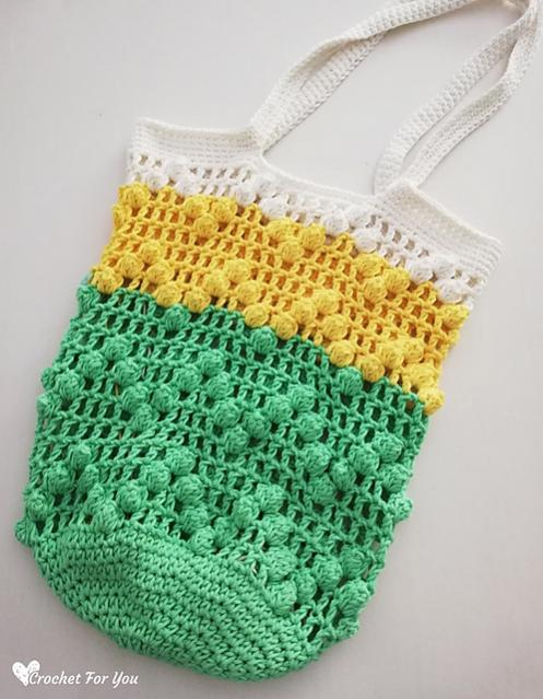 Lace and Popcorn Market Bag-bag-jpg