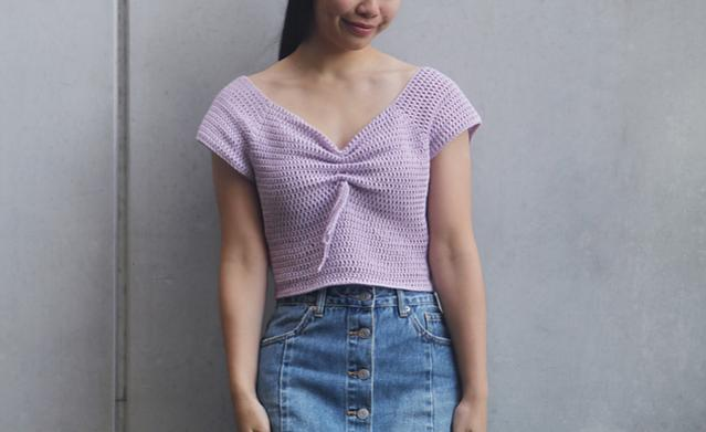 Magnolia Sweetheart Crop Top for Women, XS-3XL-top1-jpg