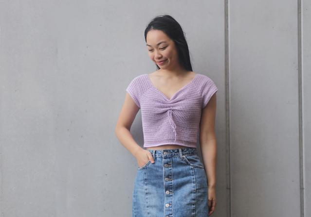 Magnolia Sweetheart Crop Top for Women, XS-3XL-top2-jpg