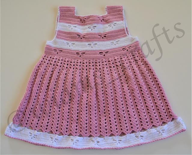 Dragonfly Toddler Dress for Girls, 4-5 yrs-dress-jpg