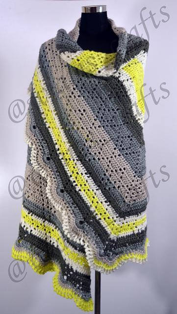 Lime-O-nade Shawl for Women-shawl-jpg