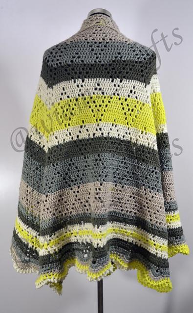 Lime-O-nade Shawl for Women-shawl2-jpg