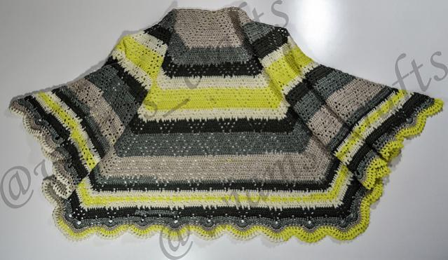 Lime-O-nade Shawl for Women-shawl3-jpg
