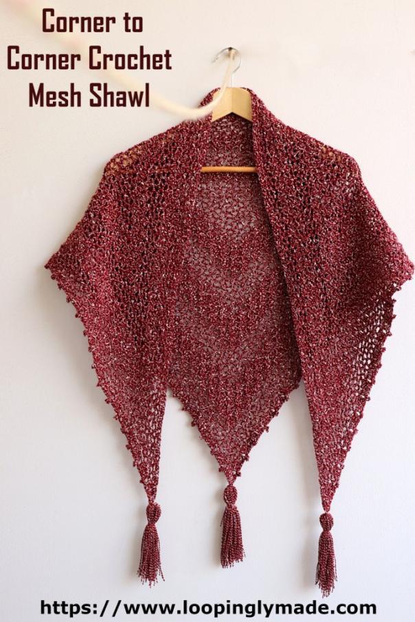 C2C Mesh Shawl for Women-shawl3-jpg