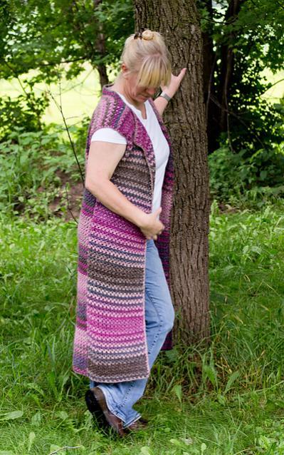 Wildflower Pool Cardi Vest for Women, XS-4X-vest2-jpg