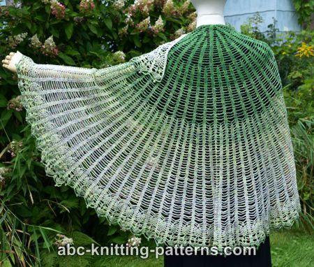 Semi-Circular Shawl with Pineapple Border-shawl2-jpg
