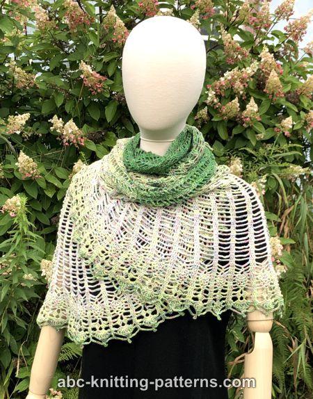 Semi-Circular Shawl with Pineapple Border-shawl4-jpg