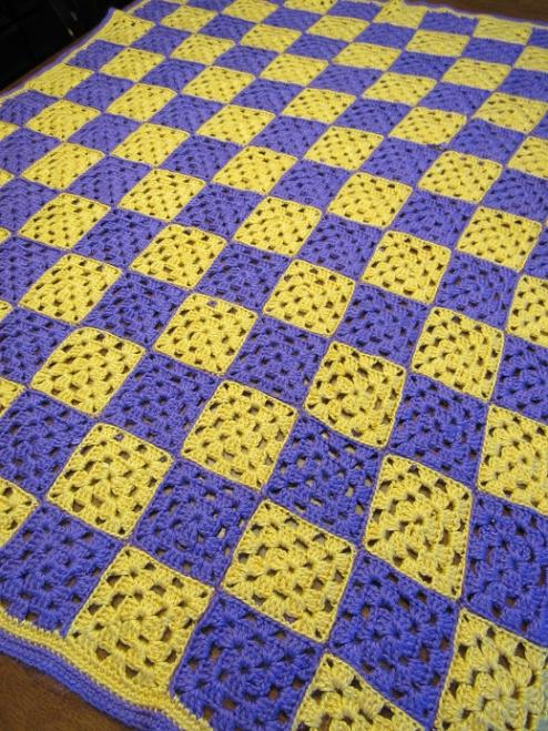 """PURPLE PASSION II""  Available at GrannyBlankets.com-pruple-afghan-blanket-jpg"