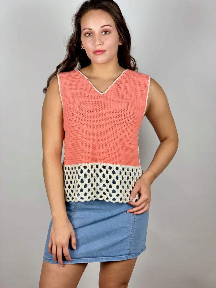 Honeycomb Stitch Summer Tank for Women, XS-2X-tank1-jpg
