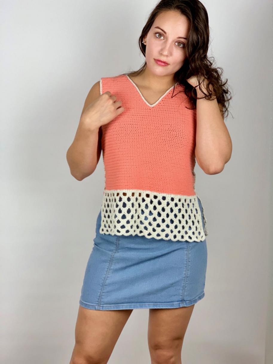 Honeycomb Stitch Summer Tank for Women, XS-2X-tank4-jpg
