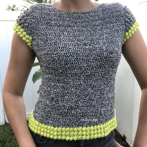 Bobble in Time Top for Women,S/M/L-top-jpg