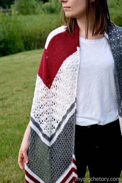 Arrow Crochet Wrap for Women-wrap1-jpg