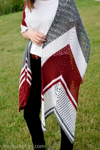 Arrow Crochet Wrap for Women-wrap2-jpg