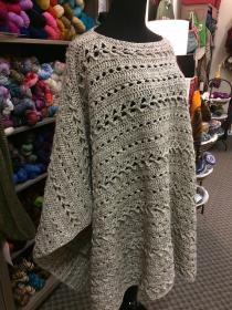 Perfect Fall Poncho for Women, fits most adults-fall1-jpg