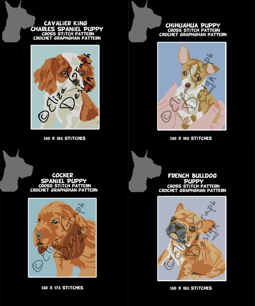 Puppies: Cavalier King Charles Spaniel, Chihuahua, Cocker Spaniel, French Bulldog-untitled-2-jpg