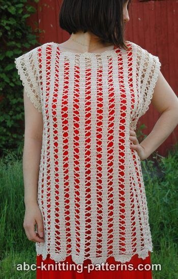 Bruges Lace Sleeveless Summer Top S-XL-top-jpg