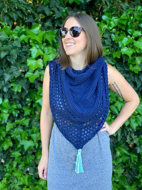 Portside Triangle Scarf for Women-scarf2-jpg
