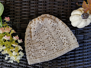 Rustic Lace Hat and Scarf for Women-hat-jpg