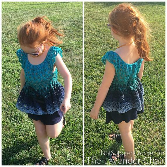 Gemstone Lace Flowy Top for Girls, 4T-10T-top-jpg