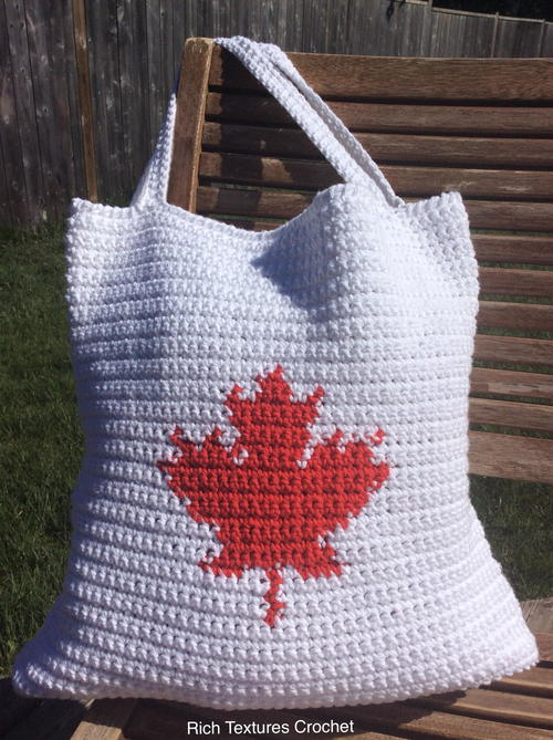 Canada Tote Bag Free Crochet Pattern (English)-canada-tote-bag-free-crochet-pattern-jpg