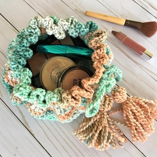 Drawstring Makeup Pouch Bag Free Crochet Pattern (English)-drawstring-makeup-pouch-bag-free-crochet-pattern-jpg