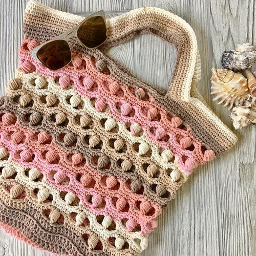 Seashells By Seashore Market Bag Free Crochet Pattern (English)-seashells-seashore-market-bag-free-crochet-pattern-jpg