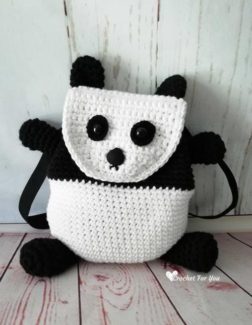 Panda Backpack Bag Free Crochet Pattern (English)-panda-backpack-bag-free-crochet-pattern-jpg
