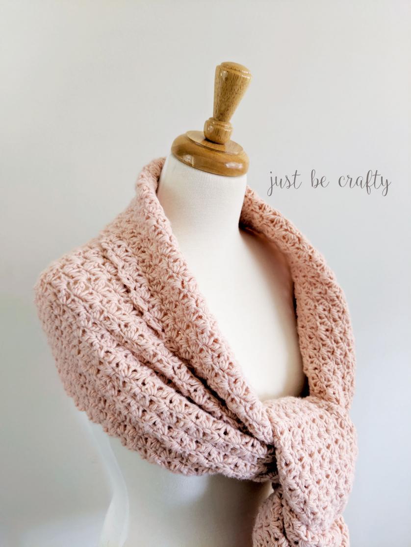Shimmer Crochet Wrap for Women-shimmer-crochet-scarf4-jpg