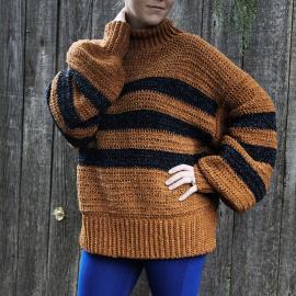 Cozy Calico Sweater for Women, XS-5X-sweater1-jpg