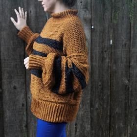 Cozy Calico Sweater for Women, XS-5X-sweater4-jpg
