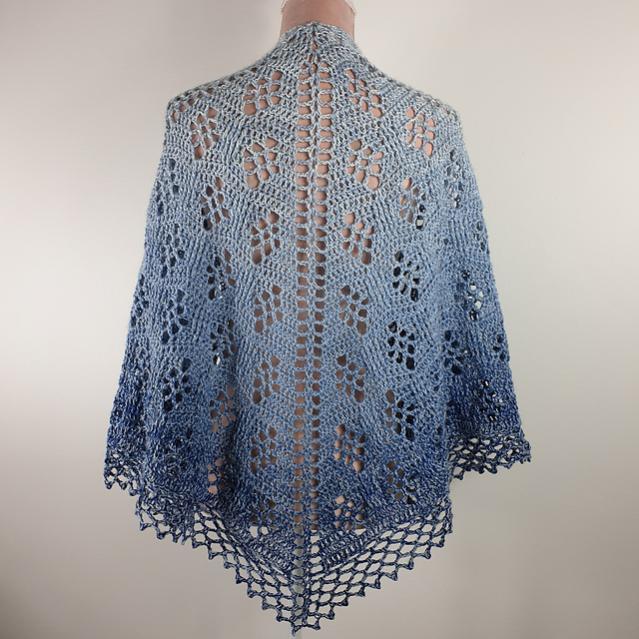 Sparkling Waves Shawl for Women-shawl2-jpg