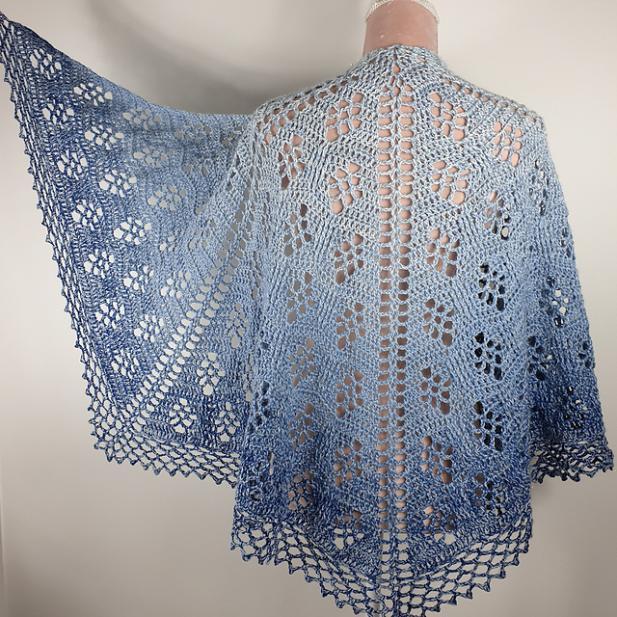 Sparkling Waves Shawl for Women-shawl1-jpg