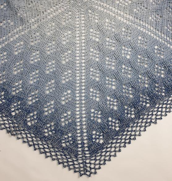 Sparkling Waves Shawl for Women-shawl3-jpg