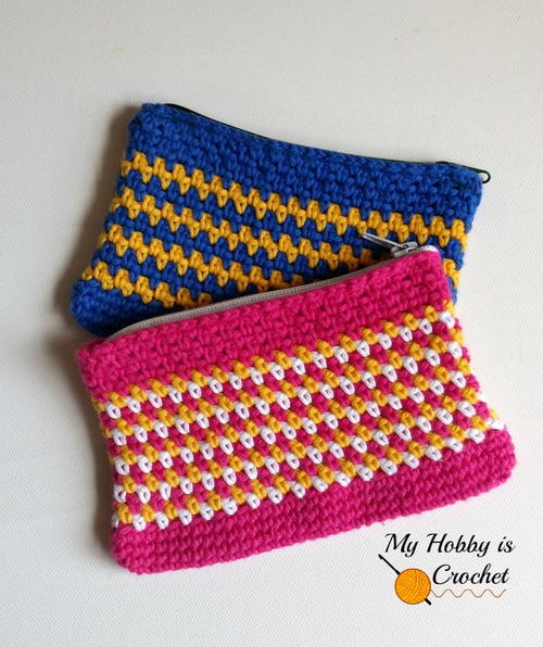 Woven Stitch Pouch Free Crochet Pattern (English)-woven-stitch-pouch-free-crochet-pattern-jpg