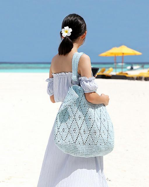 Diamond Stitch Oversized Tote and Matching Hat for Women-bag1-jpg