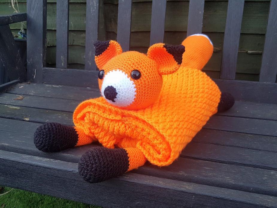 Woodland Fox Baby Blanket-baby3-jpg