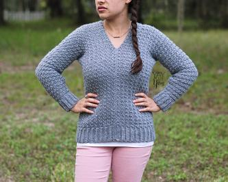 Textured Pullover for Women, XS-5X-pullover1-jpg