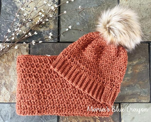 Cozy Up Hat and Scarf Set for Women-set-jpg