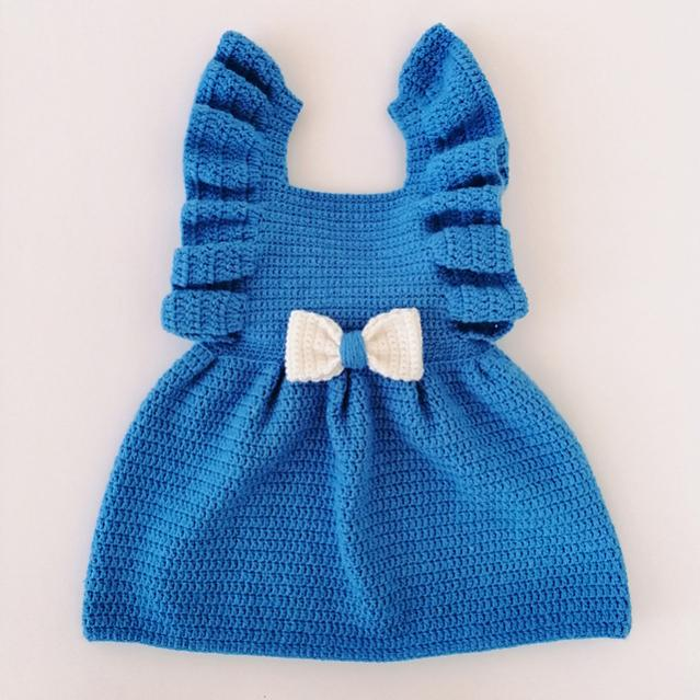 Enchanted Baby Dress, newborn to 6 mos-baby2-jpg