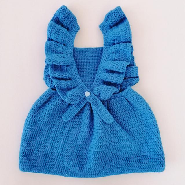 Enchanted Baby Dress, newborn to 6 mos-baby3-jpg