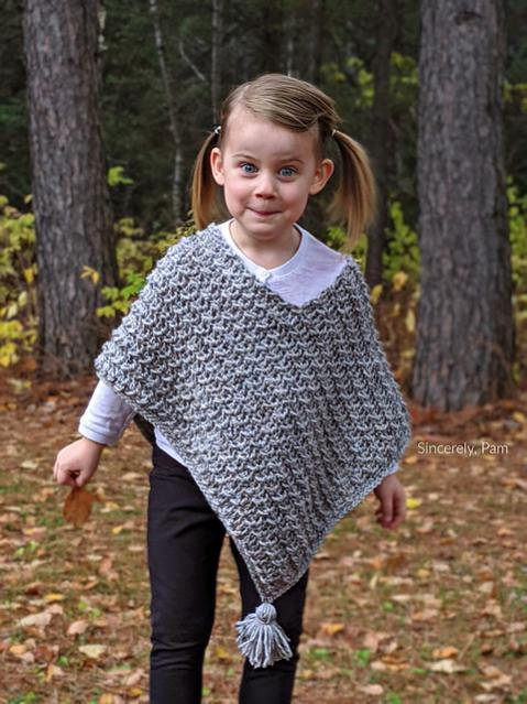 Ragged Falls Poncho for children, 2-12, Women XS-5X-poncho3-jpg
