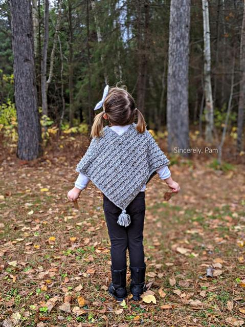 Ragged Falls Poncho for children, 2-12, Women XS-5X-poncho2-jpg