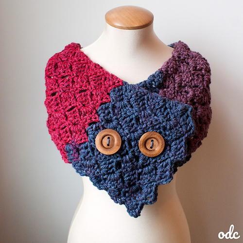 Autumn Breeze Buttoned Scarf Free Crochet Pattern (English)-autumn-breeze-buttoned-scarf-free-crochet-pattern-jpg