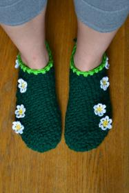 Barefoot in the Grass Slippers for Women, size 8.5 also adjustable-slippers1-jpg